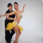 Boris and Patricia Salsa Dancers